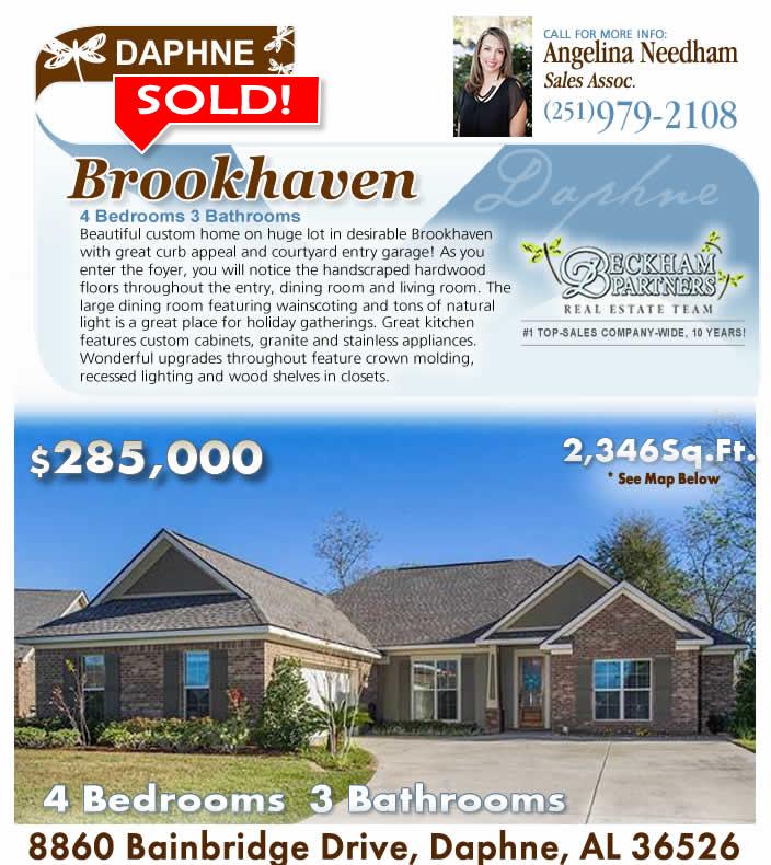 Daphne, AL Brookhaven, Homes for Sale