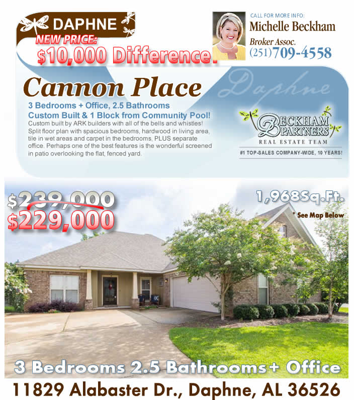 Daphne Home For Sale In Canaan Place Search Baldwin Mls