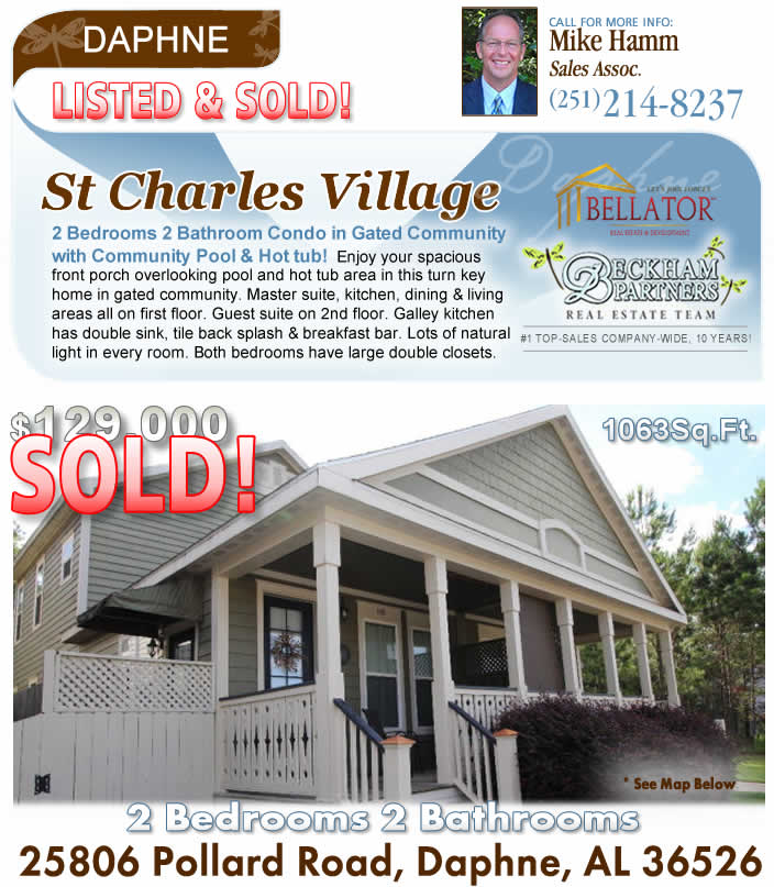 St. Charles Village, Daphne AL Home for Sale