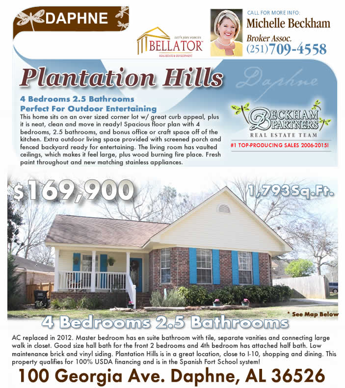 Plantation Hills, Daphne Homes for Sale