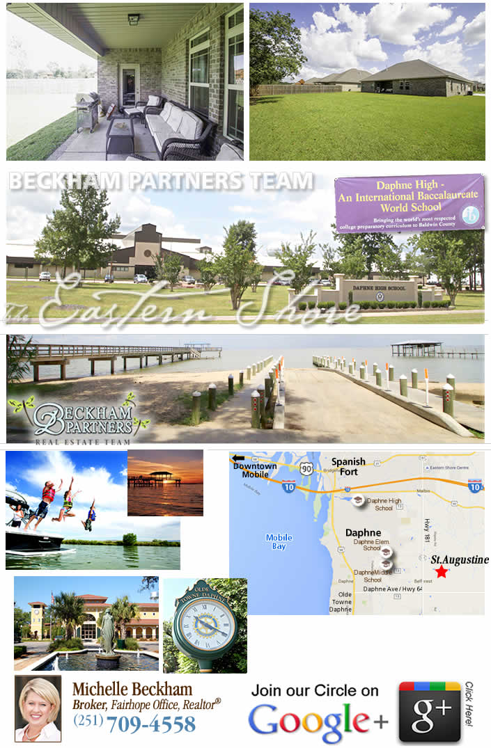 St. Augustine, Daphne, AL Home for Sale - Eastern Shore of Baldwin County, Real Estate