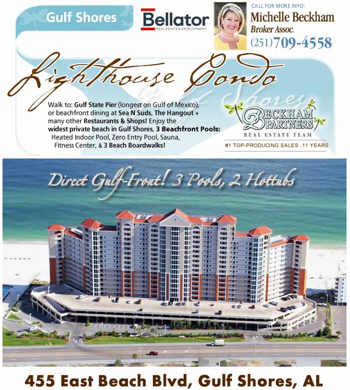 Gulf Shores - Lighthouse Beach Condo for Sale