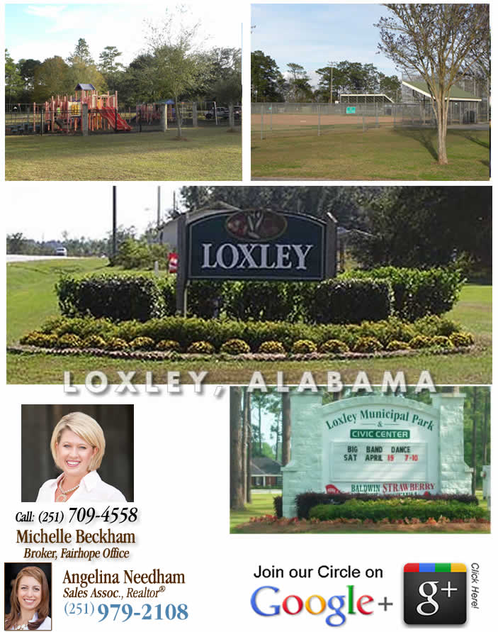 Visit Loxley Real Estate Google+ Page