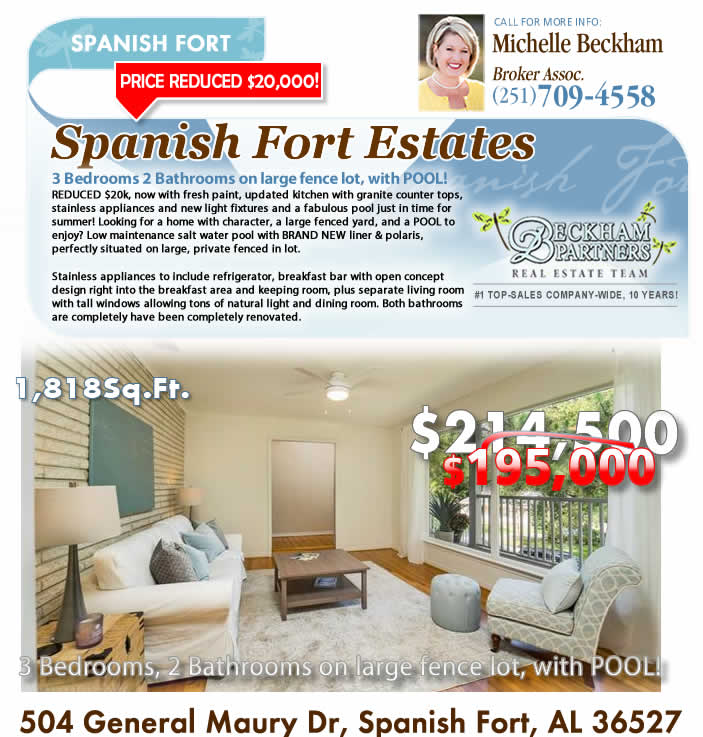 Spanish Fort Estates: Baldwin County AL Real Estate