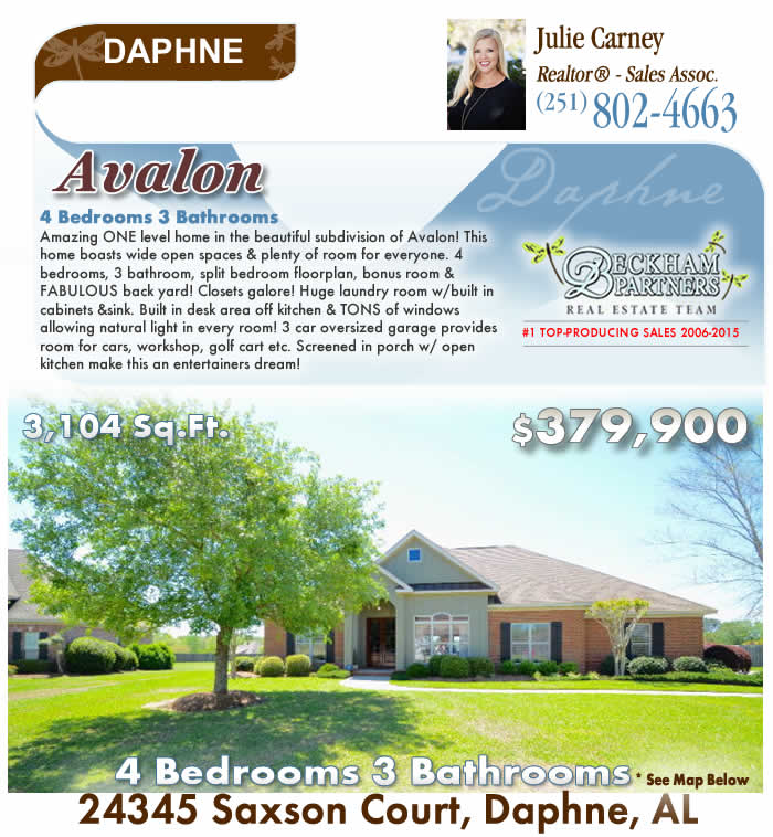 Daphne Homes for Sale