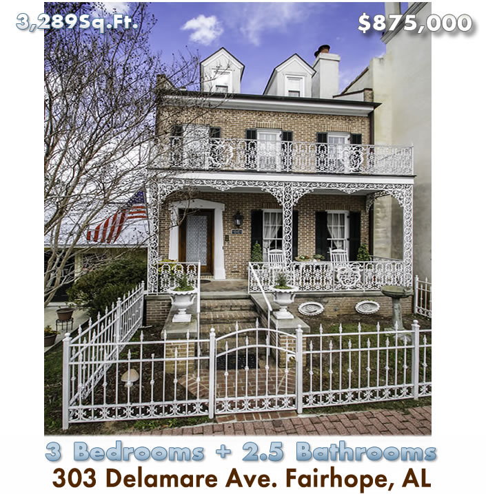 Downtown Fairhope Commercial and Residential for Sale