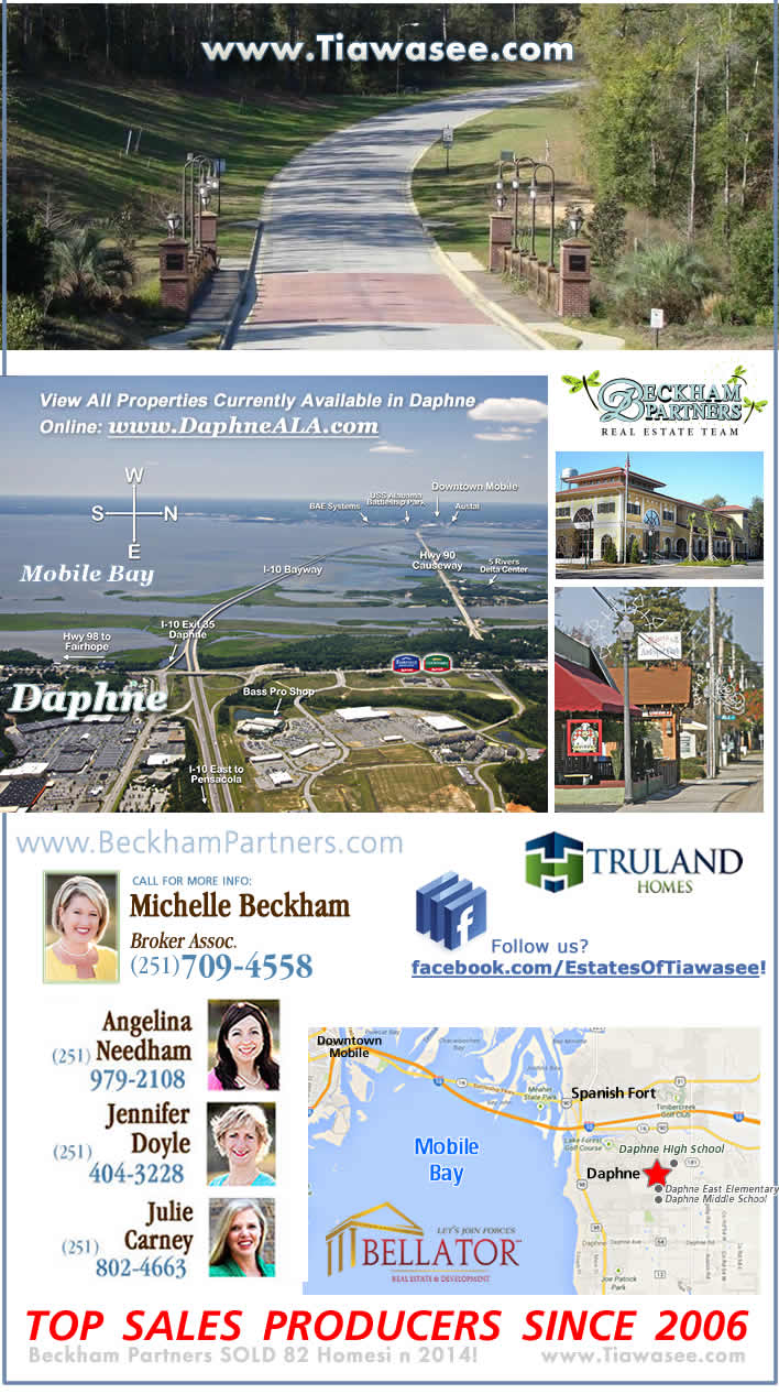 Estates of Tiawasee - Daphne AL Homes for Sale