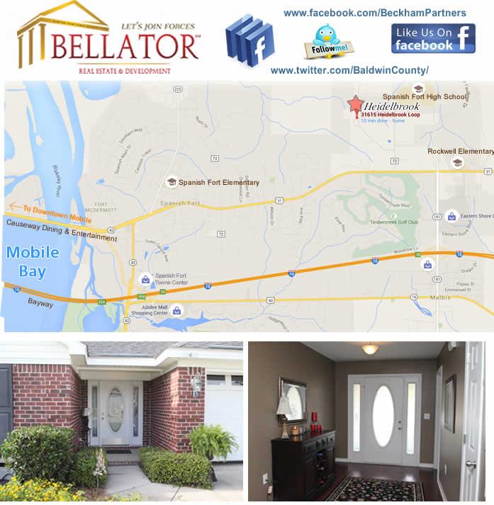 Alabama Gulf Coast Home for Sale
