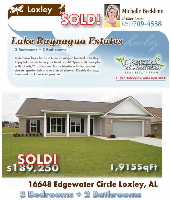 Alabama Eastern Shore Home for Sale