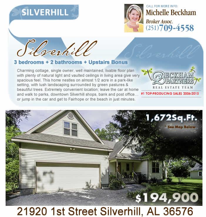 Silverhill, AL Home for Sale